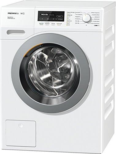 Miele WKF 311 WPS SpeedCare mit 8 kg Schontrommel/Weiß/QuickPowerWash für perfekt saubere Wäsche in unter 1 Stunde/18 Waschprogramme