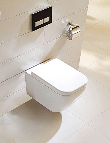Spülrandloses Wand-WC inkl. Soft-Close Sitz WHR-6021
