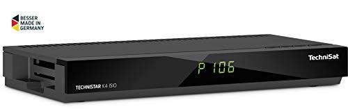 TechniSat TECHNISTAR K4 ISIO Kabel-Receiver (mit vierfach-Tuner, Picture in Picture, Picture and Picture, HbbTV, IPTV) Anthrazit