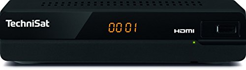 TechniSat HD-S 221 - digital HD Satelliten Receiver (Sat DVB-S/S2, HDTV, HDMI, USB Mediaplayer, vorinstallierte Programmliste, Sleeptimer, kompaktes Gehäuse) schwarz