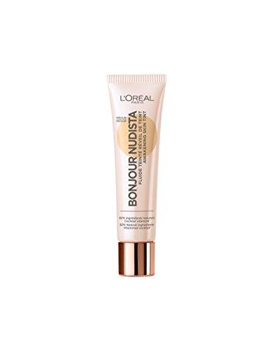 L'Oréal Paris Bonjour Nudista Awakening Skin Tint BB Cream in Medium, verleiht dem Teint ein natürlich strahlendes Finish, feuchtigkeitsspendend