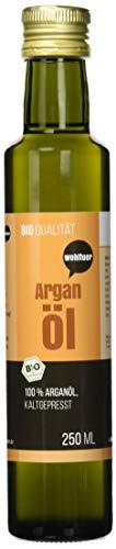 Wohltuer Bio Arganöl 250ml - Nativ gepresst und 100% rein - Natur pur (250ml)   Hautpflegeöl   Haaröl   100% Naturkosmetik