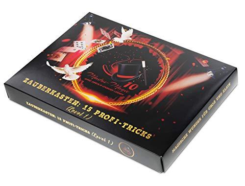Madus-Magic Premium Zauberkasten für Kinder ab 10 Jahre und Erwachsene | Zaubern Lernen | Zaubertricks | Geschenk