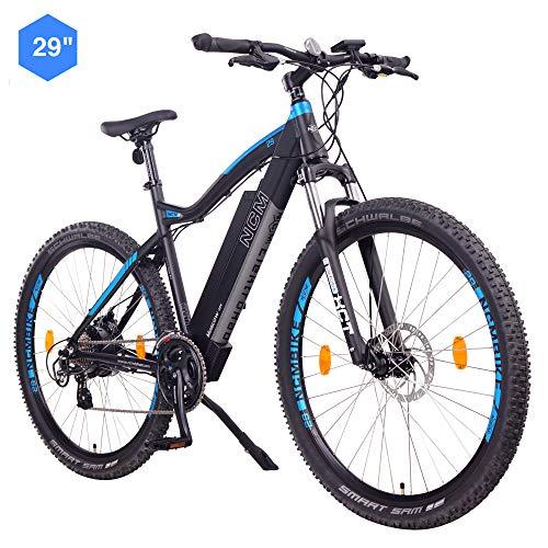 """NCM Moscow E-Bike, E-MTB, E-Mountainbike 48V 13Ah 624Wh - 29"""" Schwarz"""