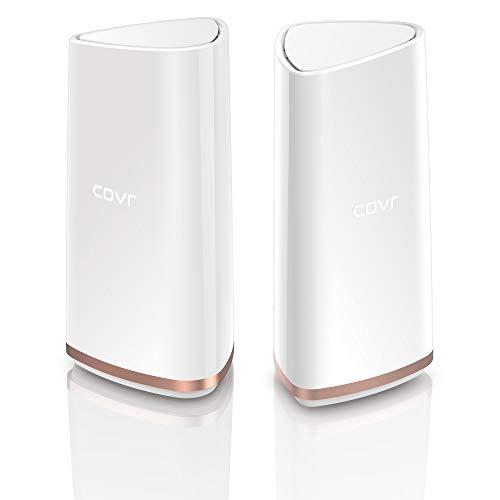 D-Link COVR-2202 Whole Home Mesh Wifi System (Tri-Band AC2200, kombinierte WLAN-Geschwindigkeit von bis zu 2,2 Gbit/s)
