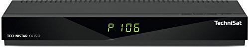 TechniSat TECHNISTAR K4 ISIO Kabel-Receiver mit vierfach-Tuner, Picture in Picture, Picture and Picture, HbbTV, IPTV, schwarz