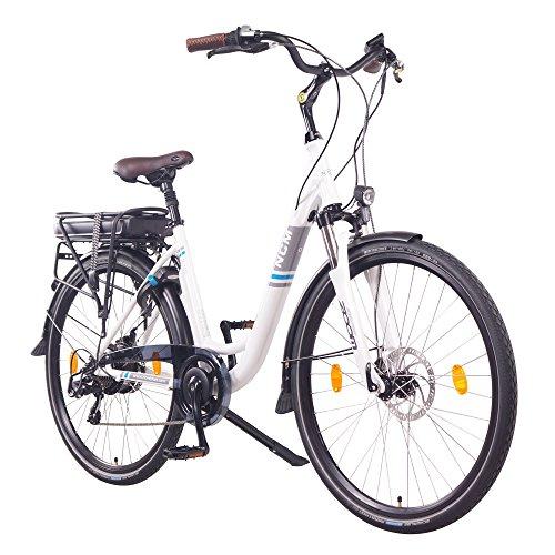 "NCM Munich 28"" E-Bike City Rad, 250W, 36V 13Ah 468Wh weiß"