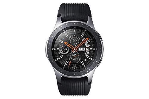 Samsung SM-R800NZSADBT Galaxy Watch 46 mm (Bluetooth), Silber