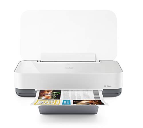 HP Tango Smart Home Drucker (HP Instant Ink, WLAN, Bluetooth, integrierte Sprachsteuerung, mit 2 Monaten Instant Ink inklusive) weiß/grau