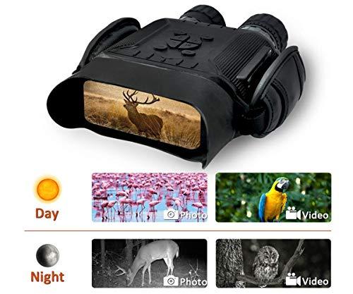 """Bestguarder HD Digital Nachtsichtgerät mit 32G Speicherkarte 4.5-22.5*40MM 2592*1944 Bild & 1280*720 Video mit Tom 4.5X40mm Fernglas mit Zeitraffer Funktion 4""""LCD Widescreen von 400m in Dunkelheit"""