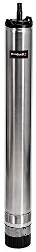 Einhell Tiefbrunnenpumpe GE-DW 1100 N-A (1100 W, 6000 L/h, 55 m Förderhöhe, 98 mm Pumpendurchmesser, Automatikfunktion, Trockenlaufschutz, 8-stufiges Laufradsystem, Rückschlagventil)