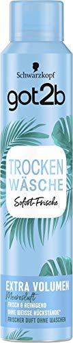 Schwarzkopf got2b Trockenshampoo volumen, 1er Pack (1 x 200 ml)