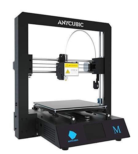 ANYCUBIC I3 Mega 3D Drucker Kit mit größerem Druckbereich und Ultrabase Heizbett 3,5 Zoll TFT Touchscreen PLA ABS 1.75mm Filament (ANYCUBIC M)