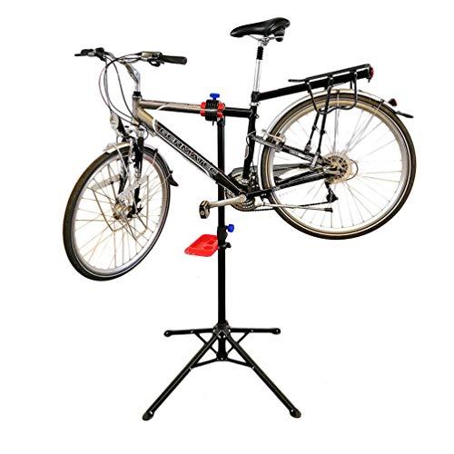 WANDERVOGEL Fahrrad Montageständer Reparaturständer Fahrradständer Fahrradmontageständer Ständer Mit Abnehmbarer Werkzeugablage Werkzeugständer Geeignet Für Meisten Fahrräder