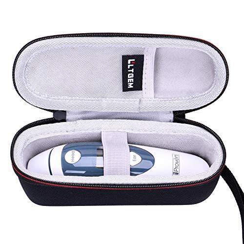 LTGEM EVA-Etui für Ohrthermometer mit Stirnfunktion - FDA-Zulassung für Baby und Erwachsene - iProven DMT-489 - Reise-Aufbewahrungstasche