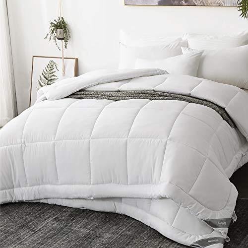 Bedsure Bettdecke 135x200 cm 4 Jahreszeiten, Oeko-Test Zertifiziert Winterdecke, Super Weiche Kuschelige Steppdecke Schlafdecke