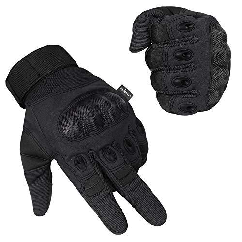 Unigear Motorrad Handschuhe Herren, mit schmalem Riegel, Leichte Sommerhandschuhe auch geeignet für Taktische Handschuhe, Skifahren, Militär, Airsoft Outdoor Handschuhe