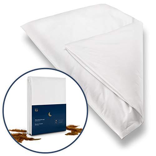 Blumtal 2er Set Milbenbezug Allergiker Bettbezug - Milben Encasing Allergiker Bettwäsche, 135x200 cm