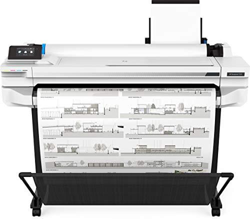 HP Designjet T525 (5ZY61A) Tintenstrahldrucker, grau, Medienbreite bis 914 mm