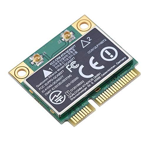 Mini WiFi PCI-E Netzwerkkarte, Dual Band 2,4-G / 5 GHz PCI-E WLAN Karte, 433-Mbit/s Hochgeschwindigkeits PCI Express WLAN Karte für Desktop, Laptop, industrielle Steuerplatine, kompatibel für Window