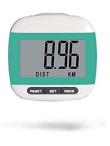 LEBEXY Schrittzähler Pedometer mit Clip Einfache   Kilometerzähler Joggen   Fitness Tracker   Schrittzaehler Testsieger ohne app und Handy