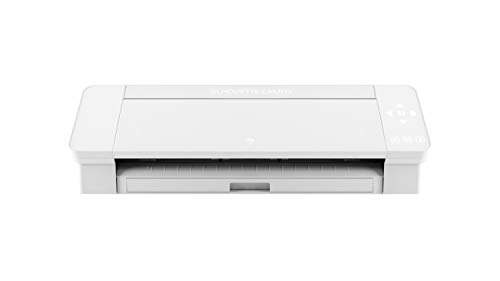 Silhouette America SILH-CAMEO-4-WHT-5T Silhouette Cameo 4 Schneideplotter, Weiß, 30,5 cm Schneidebreite