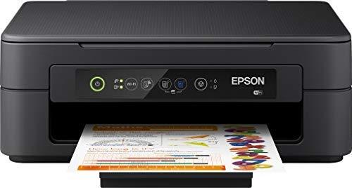 Epson Expression Home XP-2100 3-in-1-Tintenstrahl-Multifunktionsgerät, Drucker (Scanner, Kopierer, WiFi, Einzelpatronen, 4 Farben, DIN A4) Amazon Dash Replenishment-fähig, schwarz