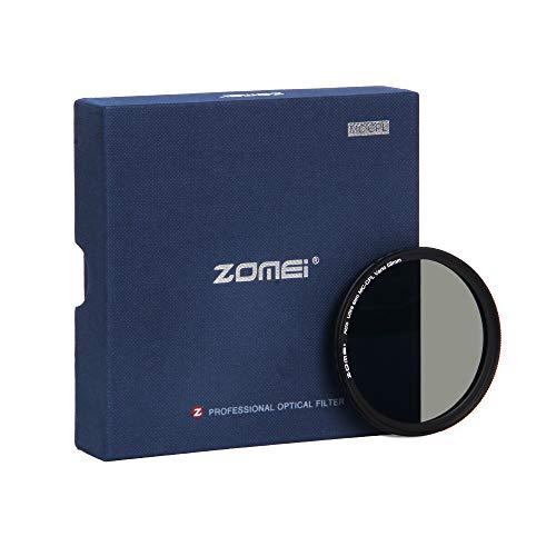 ZOMEi 58mm Premium CPL Pol Filter für eine hohe Bildqualität - Polfilter 58mm für eine klare Entspiegelung Ihrer Aufnahmen - Zirkularer Polarisationsfilter