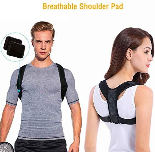 DOSMUNG Haltungskorrektur, Geradehalter zur Haltungskorrektur | Körperhaltung-Korrektor Rückenstütze, Sports Haltungstrainer Rücken Schulter für Damen und Herren Größenverstellbar