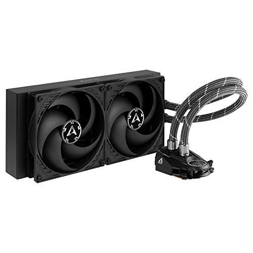 ARCTIC Liquid Freezer II 280 - Multi-Kompatible CPU Wasserkühlung, kompatibel mit Intel & AMD Sockeln, Lüftergeschwindigkeit: 200 - 1700 U/min. (PWM-gesteuert)