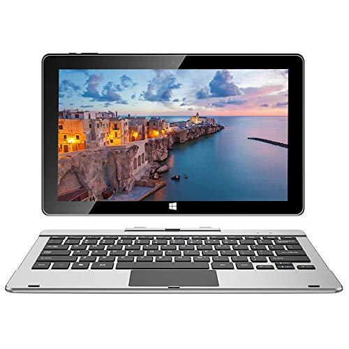 Jumper EZpad 6 Pro 2in1 Laptop Touchscreen 11,6 Zoll Full HD Ultrabook Windows 10 Schmale Einfassung Intel Atom E3950 Quad Core Prozessor 6GB RAM 64GB eMMC Unterstützt 256GB TF-Karte