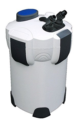 AquaOne Aquarium Außenfilter Aquarienfilter Filter HW 302 bis 400l Becken +Filtermedien 1000 L/h Schwamm Filtermaterial Pumpe