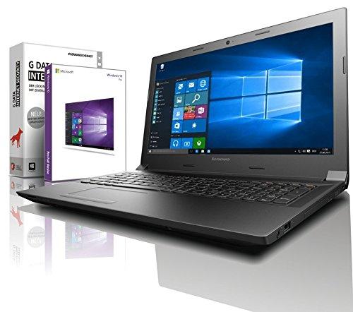 Lenovo (15,6 Zoll HD) Notebook (AMD A4-9125 2x2.6 GHz, 8GB DDR4 RAM, 1000GB HDD, Radeon R3, HDMI, Webcam, Bluetooth, USB 3.0, WLAN, Windows 10 Prof. 64 Bit, MS Office 2010 Starter) #6254