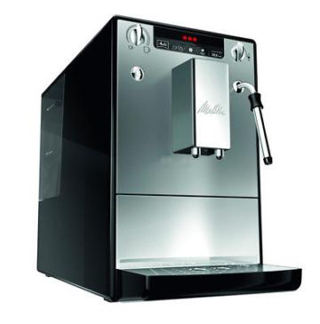 MELITTA Caffeo Solo & milk E953-102 - Kaffee-Vollautomat Silber / Schwarz